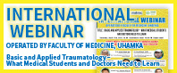 INTERNATIONAL WEBINAR OPERATED BY FACULTY OF MEDICINE, UHAMKA